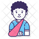 Broken Arm Injured Hand Arm Icon