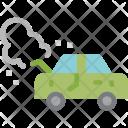 Broken Car Engine Icon