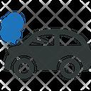 Broken Car Wreck Icon