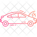 Broken Car Car Accident Accident Icon