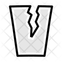 Glass Crack Broken Icon