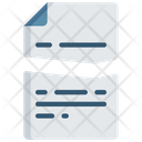 Broken Document Ripped Note Icon