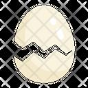 Egg Eggs Broken Icon