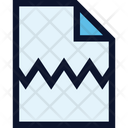 File Document Broken Icon