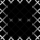 Broken Crop File Icon