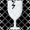Broken Glass Cargo Icon