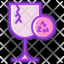 Broken Glass Icon