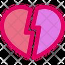 Broken Heart Heart Broken Icon