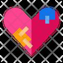Broken Heart Emoji Love Icon