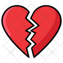 Injured Heart Broken Heart Sad Heart Icon
