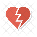 Heart Broken Breakup Icon