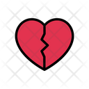 Broken Heart Emotional Icon