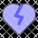 Broken Heart Heart Breakup Icon