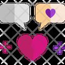 M Broken Heart Icon