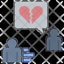 Alone Broken Heart Forsake Icon