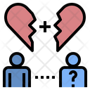 Alone Couple Lonely Icon