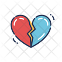 Broken Heart February Velentines Icon