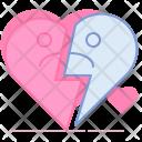 Broken End Valentine Icon