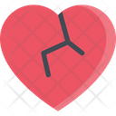 Broken Heart Heart Love Icon