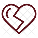 Love Broken Heart Icon