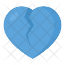 Broken Heart Heartbreak Icon