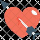 Broken Heart Arrow Icon