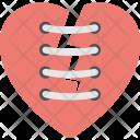 Broken Heart Feeling Icon