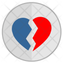 Broken Over Separation Icon