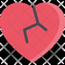 Broken Heart Couple Icon