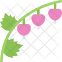 Broken Heart Flower Icon