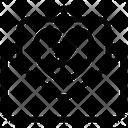 Broken Heart Message Icon