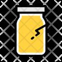 Broken Plastic Trash Icon