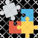 Broken Jigsaw Puzzle Icon