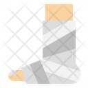 Broken Leg Hospital Icon