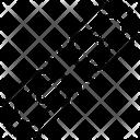 Broken Chain Broken Linkage Broken Hyperlink Icon