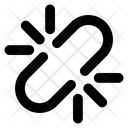 Chain Link Broken Link Broken Hyperlink Icon