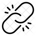 Broken Link Connection Hyperlink Icon