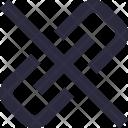 Broken Chain Hyperlink Icon