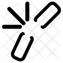 Chain Link Broken Link Broken Web Link Icon