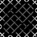 Broken Link Broken Chain Disconnect Icon