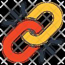 Url Hyperlink Broken Linkage Icon