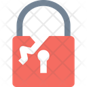 Accessv Broken Lock Allow Access Icon