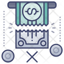 Broken Overdraft Icon
