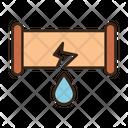 Broken Pipe Icon