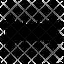 Broken Pipe Plastic Icon