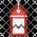 Broken Price Tag Icon