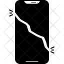 Broken Cell Phone Icon