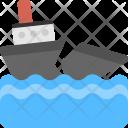 Ship Breaking Demolition Icon