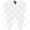 Broken Tooth Dental Icon