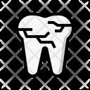 Broken Teeth Icon